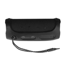 Portable Silicone Case for JBL Flip 4 BT Speakers Protective Travel Case Soft Silica Gel Storage Pouch Audio Case Black