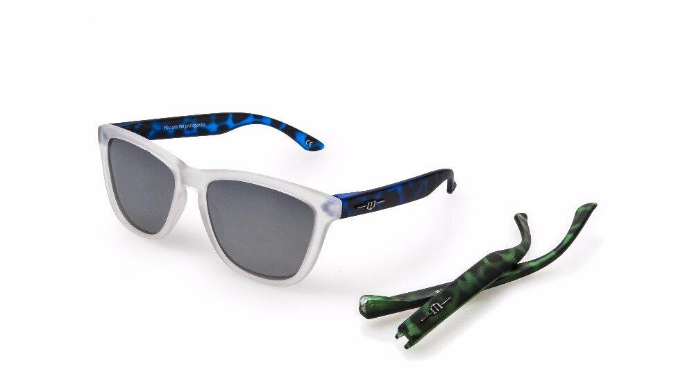 Winszenith 2018 di Modo Occhiali Da Sole Unisex UV400 Lenti Proteggere Gli Occhi Delle Donne Occhiali Polarizzati Blocchi