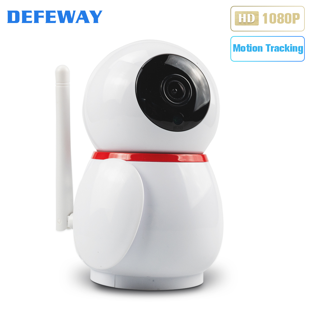 Defeway HD 1080P Smart Home Câmera Mini Câmera Wi-fi Áudio Bidirecional Wifi IP Câmera Night Vision Vídeo Camera câmera de vigilância