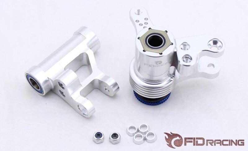 FIDRACING cnc gefräste aluminium lenkung arm set für losi 5ive t rovan lt, kmx2-in Teile & Zubehör aus Spielzeug und Hobbys bei  Gruppe 1
