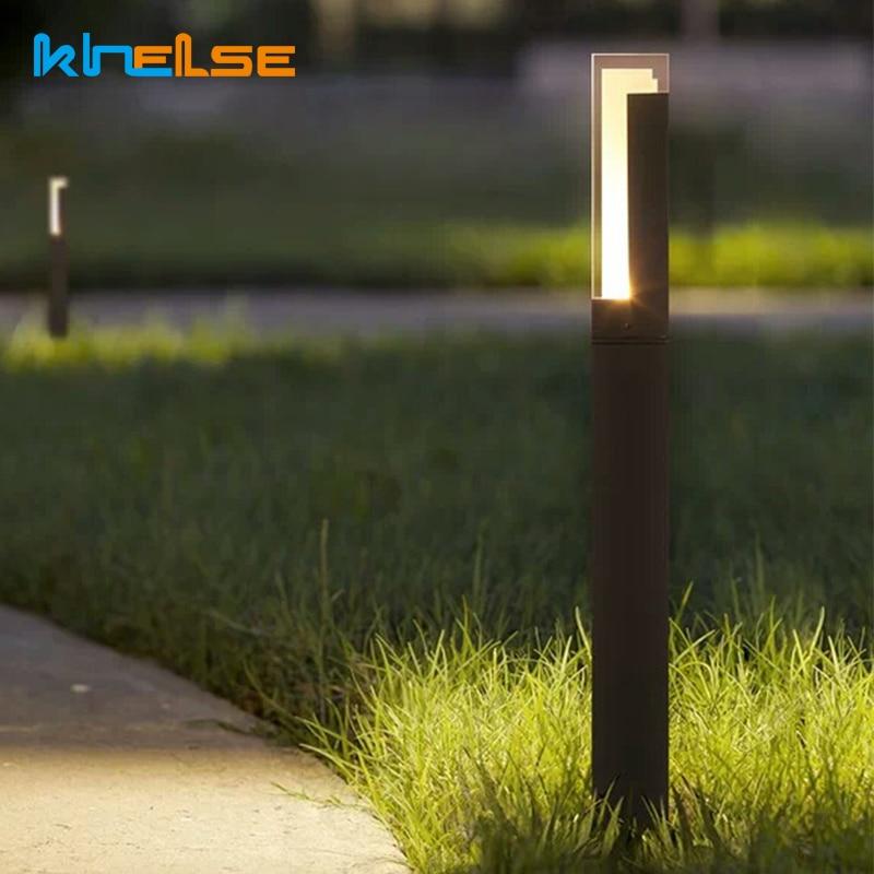 Us 48 42 30 Off Led Outdoor Lights 10w Garden Yard Lawn Lamp Ip65 Pathway Landscape Lighting 90 260v Bollard Light Park Cottage Villa Decor In
