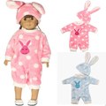 [MMMaWW] одежда для 18 дюймов 16 дюймов 45 см Американская девушка кукла Кролик комбинезоны установить в шляпе для Александр кукла девочка игрушка в подарок