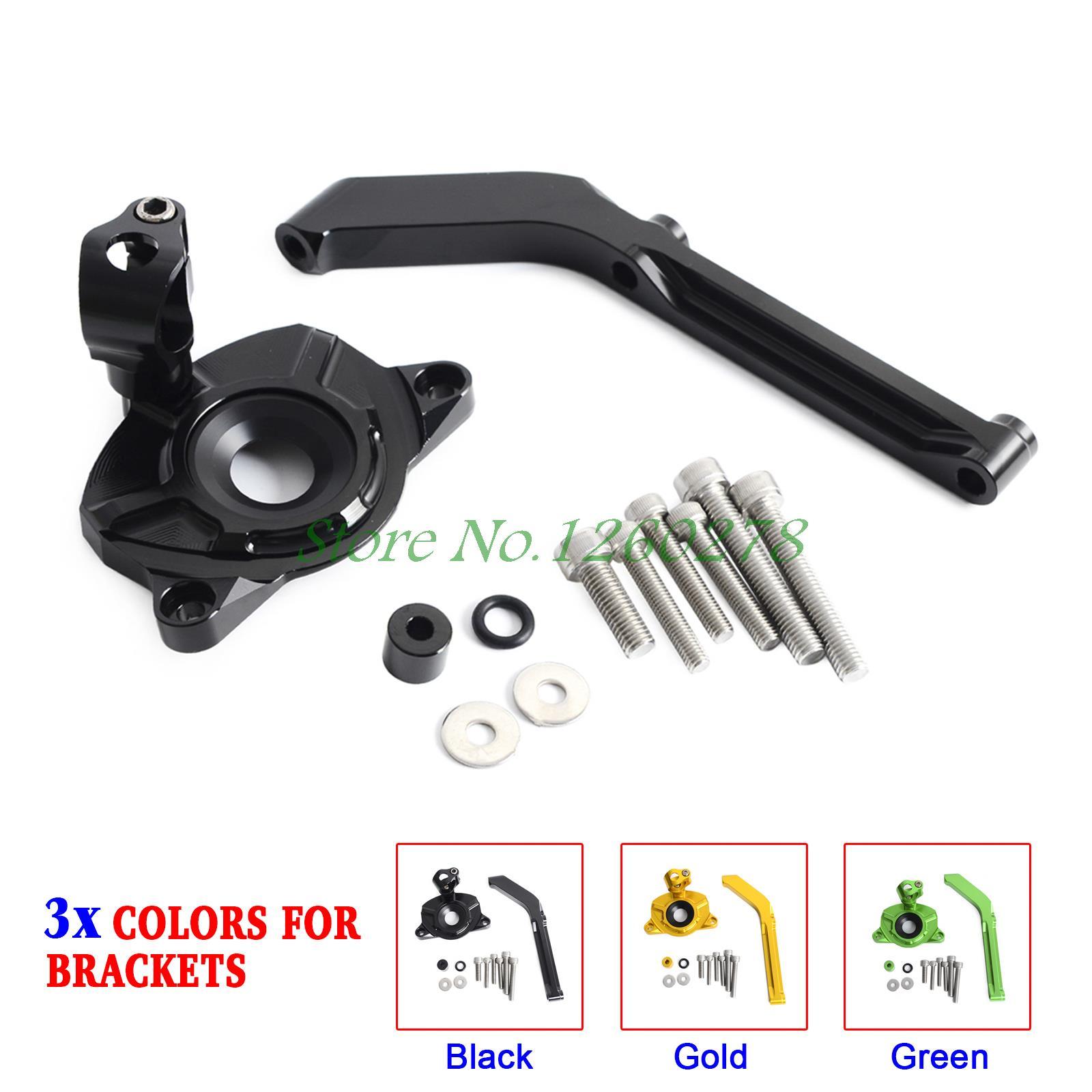 Здесь можно купить   Motorcycle Steering Damper Mounting Bracket for Kawasaki Z1000/ABS 14-17 (Not Fit Z1000SX) Автомобили и Мотоциклы