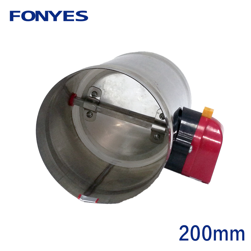 200mm stainless steel air damper valve electric air duct motorized check valve for 8 inch ventilation pipe valve 220V 24V 12V200mm stainless steel air damper valve electric air duct motorized check valve for 8 inch ventilation pipe valve 220V 24V 12V