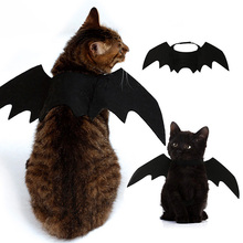 Cats Cosplay Costume Halloween Event Pet Bat Wings Cat Fit Party Dogs Funny Playing Accessories 1PC