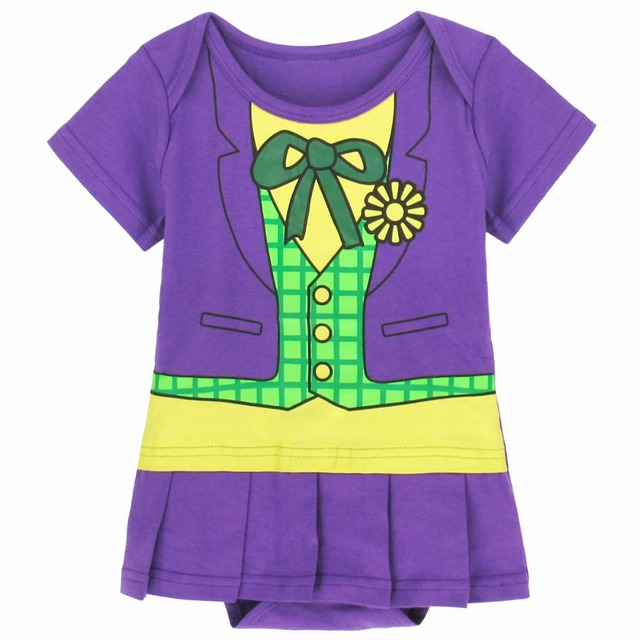 Baby Girls Joker Costume Dress Infant Bodysuit Party Cosplay Funny  sc 1 st  AliExpress.com & Baby Girls Joker Costume Dress Infant Bodysuit Party Cosplay Funny ...