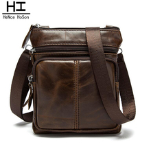 2016 HeNce HoSon New Arrival Men PU Leather Bag  Men Messenger Bags Vintage Men's  Shoulder Crossbody Bag Free shipping Z0612
