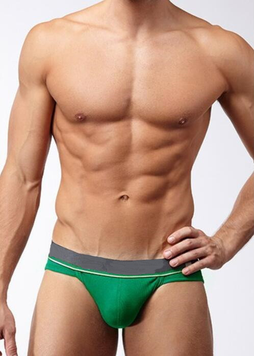 Hot Sale Men large Pouch Underwears Mens High Quality Briefs Underpants Male Daily Trunk ...