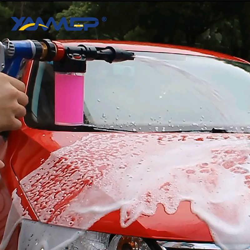 Auto Wassen Water Pistool Hoge Druk Gieter Schuimende Multifunctionele Waterpistool Schuim Verstelbare Waterstroom Schoonmaken Band Xammep