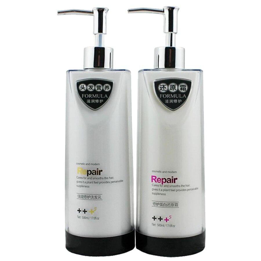 Puissant réparation Anti - pelliculaire shampooing lait 500 ML produits de Salon de coiffure livraison gratuite