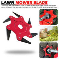 Hoe Head Tool Blade Brush Cutter Trimmer Metal Blades Trimmer Head Garden Lawn Mower Head For Lawnmower