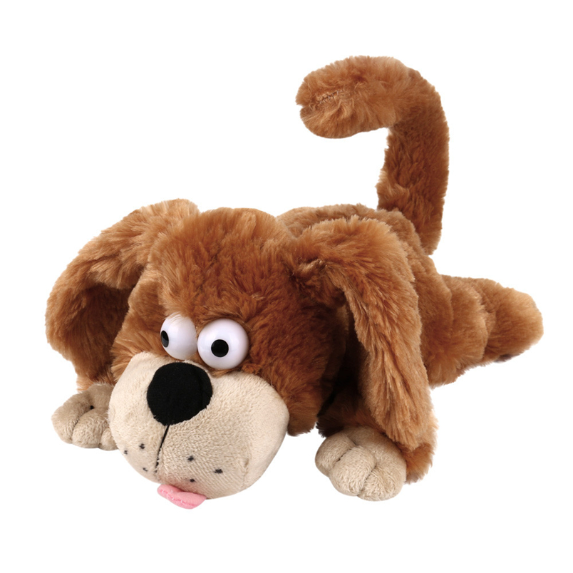 Hiinst stuffed animal 2017 Baby Kid Cute Soft Stuffed Dog Singing Soft Animal plush doll Toy*R Drop