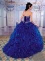 Azul Royal Vestidos Quinceanera 2016 Vendas Quentes Sweet 16 Vestidos de Baile Vestido de Debutante com Jaqueta