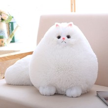 Big Size 30/50cm Long Tail Cute Simulation Persian Cat Plush Toy Grilfriend Birthday Present Kids Gift Comfort Kitty