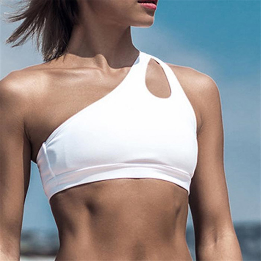 Tank Tops Mujer Verano Women Summer Festival One-Shoulder Openwork Sleeveless Sexy Tops Casual Streetwear Clothes Dropshipping C