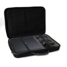 2019 Yeni PS4 Ince/PRo Sert EVA Çanta Taşıma Çantası Koruyucu Çanta Omuz Askısı ile Sony Playstation 4 slim Pro