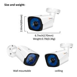 Image 2 - Jennov 5MP 4CH กล้องวงจรปิด Scurity ชุดการเฝ้าระวังวิดีโอ IP กลางแจ้งการตรวจสอบวิดีโอ DVR AHD กล้องระยะไกลดู P2P HD