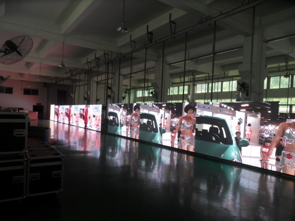Full color video led display -01