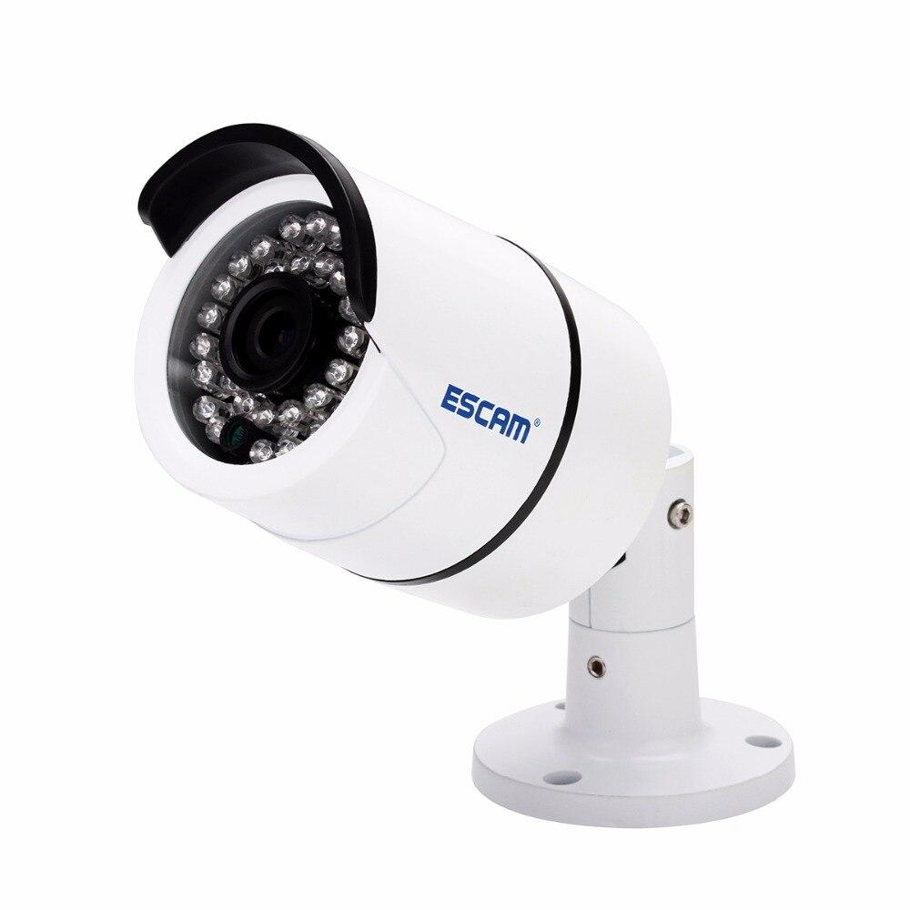 Escam Boulon QD410 IP Caméra 4MP H2.65 Onvif P2P IR Surveillance Extérieure Caméra Bullet Vision Nocturne Imperméable À L'eau IP66 CCTV Caméra