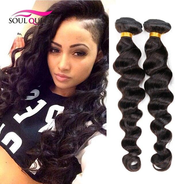 7a Indian Remy Virgin Loose Deep Wave Hair 4pcs Lot Unprocessed