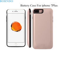 3800mAh External Backup Battery Charger Power Case Capa For IPhone 7Plus Rechargeable Powerbank Pack Phone Cover