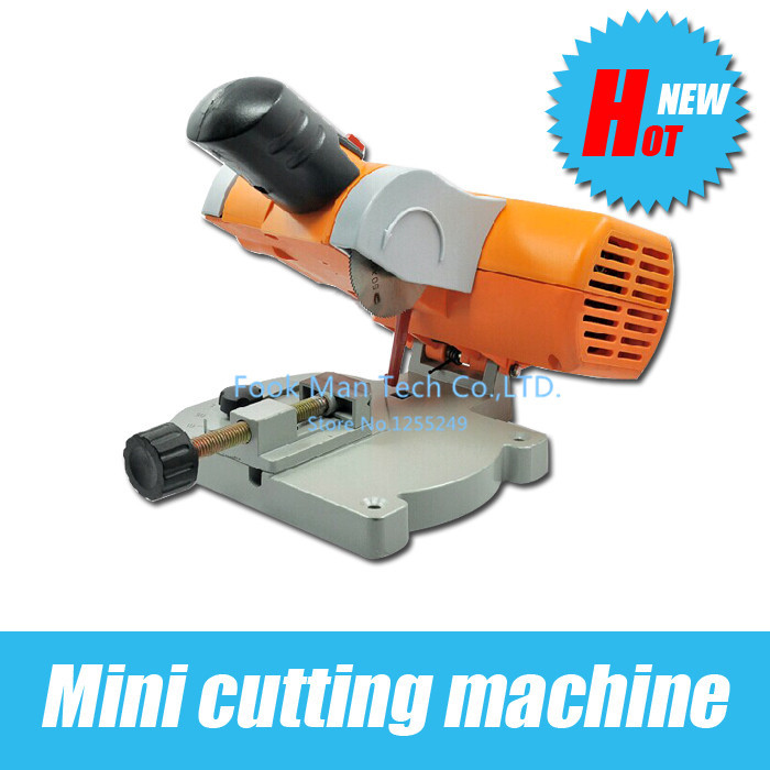 Cutting Machine, Mini Mitre Saw/Mini cut off saw/Mini chop saw cut ferrous metals non-ferrous metals wood plastic non ferrous alloys