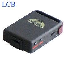 Envío libre original coban GPS102B 4 bandas TK102 mini GSM/GPRS GPS tracker para vehículos/mascotas/niños/hombres eld 1 unids/lote