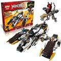 Лепин 06038 Совместимость Ninjagoes Ультра Стелс Raider 70595 Строительного Кирпича Ниндзя Фигура Игрушки Для Детей