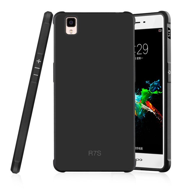 new arrival 3091f f5463 US $6.99 |Cases For OPPO R7 Case Silicone Back Cover OPPO R7S Luxury  Protective Shockproof Phone Shell for OPPO R7 Plus R7S Plus on  Aliexpress.com | ...