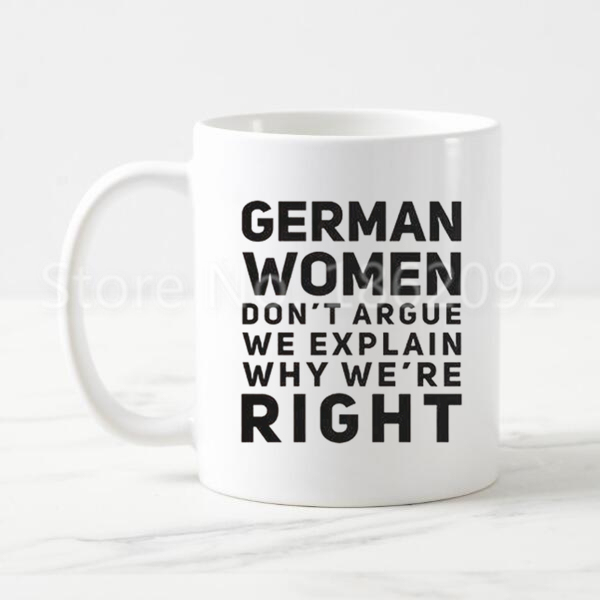 Novelty Mugs For Us14 Mom Mug Women Argue Explain Ceramic Tea Wife Cups In Printed 11oz German Funny From Don't We 99new Coworker Cool Coffee reWQdCEoxB