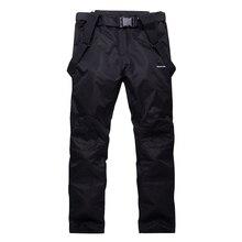 Новые лыжные штаны для женщин и мужчин, лыжные брюки для сноубординга, Женская Мужская зимняя спортивная одежда, дышащая водонепроницаемая теплая одежда