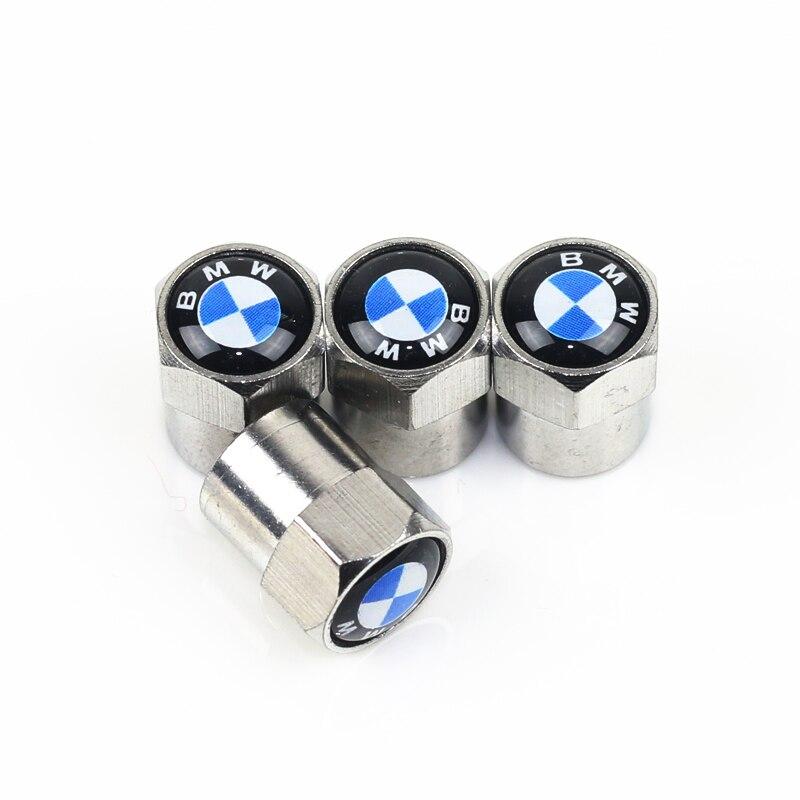 4pcs Car Wheel Tire Valves Tyre Air Caps case for E39 E36 E60 E90 E34 BMW E46 car accessories Motorcycle Automobiles