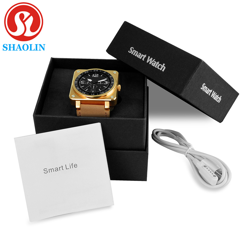 SHAOLIN Bluetooth Smart Watch Android Clock Electronic Smartwatch For Apple Watch Smartphone smart watch PK GT08