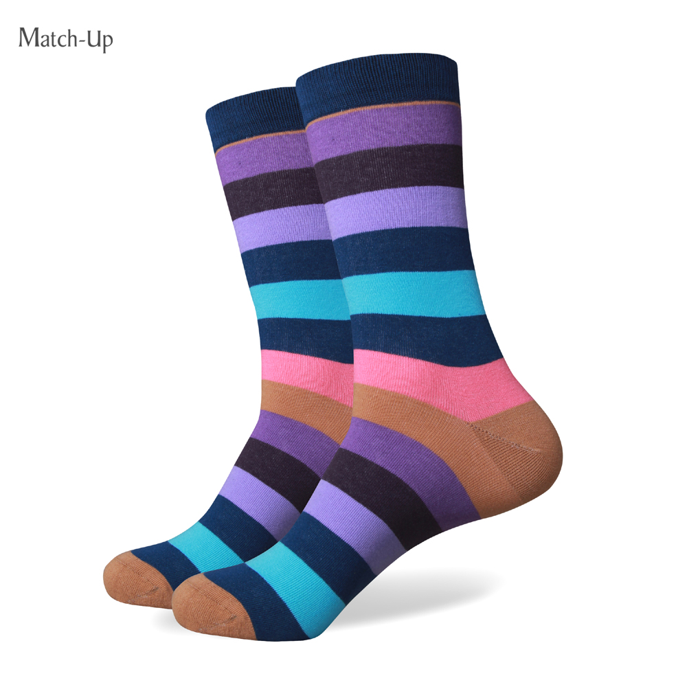 Match-Up collection all cotton men colorful socks brand man socks , men sock , cotton sock Free Shipping
