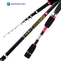 1.8m 2.1m 2.4m 2.7mShort soft end of the small sea raft rod telescopic spinning pole