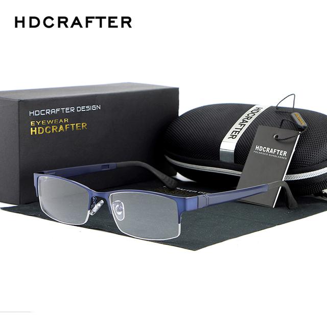 HDCERFTER Quadro Óculos De Leitura Óptica óculos de Miopia Simples Espelho Óculos de Sol óculos Computador Radiação-Resistente
