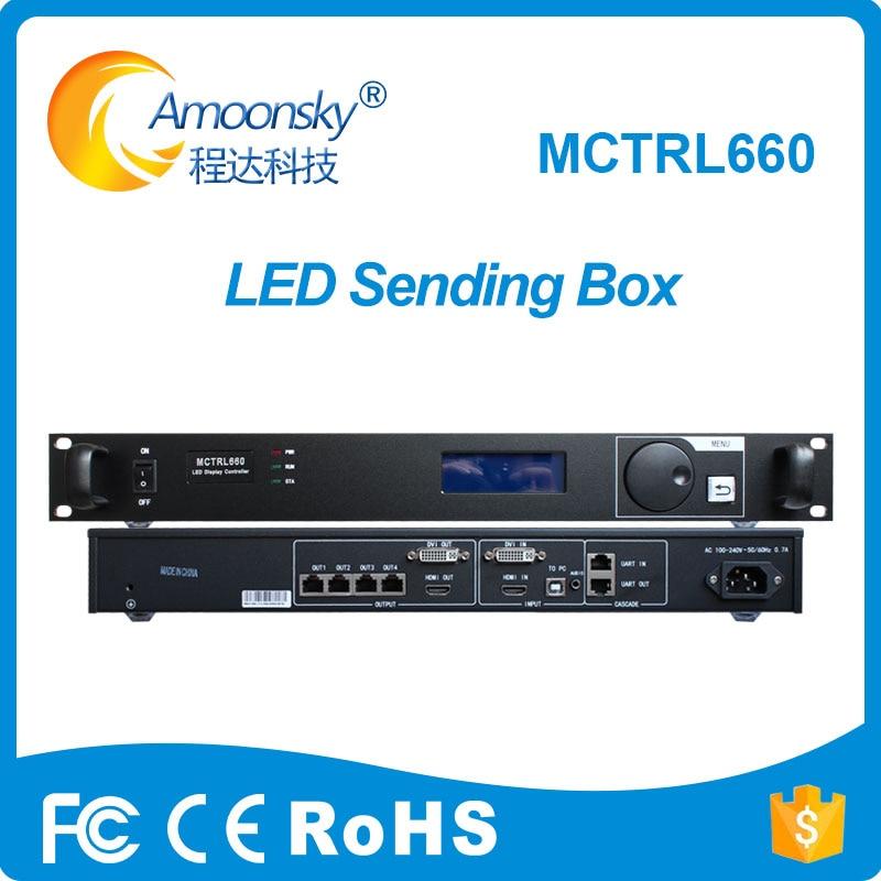 Video-Display Novastar LED Full-Color Mctrl660-Controller Rental