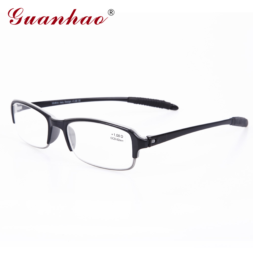 Guanhao moda Italia diseño plegable Gafas para leer TR 90 Marcos ...