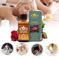 30ml/Bottle Plant Essential Oil Natural Pure Essential Oils Plant Therapy Lymphatic Beauty Drainage Rose Oil Relaxing Beauty Essential Oil