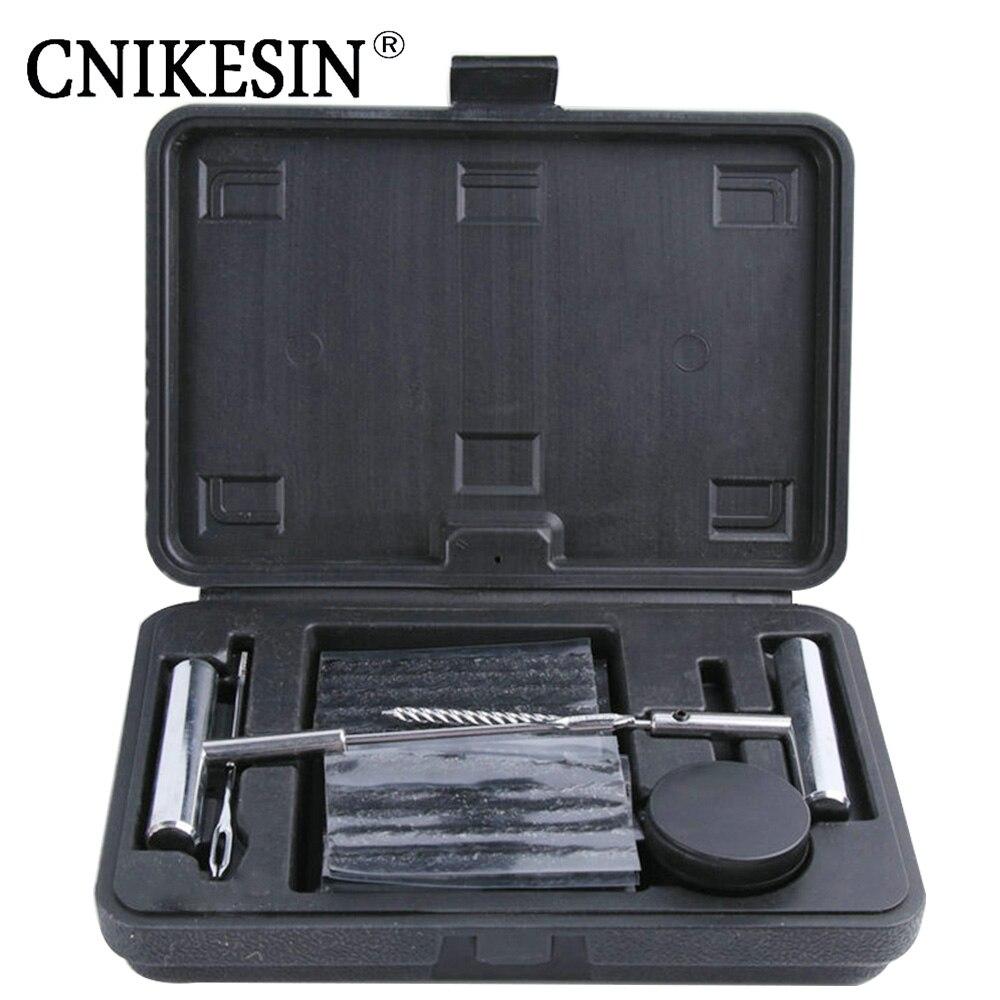 CNIKESIN 6 Set CarTire Repair Tools Set Auto Motorcycle Tubeless Vacuum Tires Repairing Tool Kit Fast Puncture Plug Repair tool