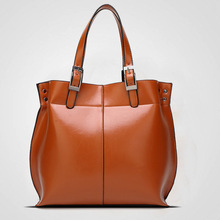 New Real Genuine Leather Bags Designer Brand Handbags High Quality Shopping Tote Bags Ladies Shoulder Women Messenger Bags