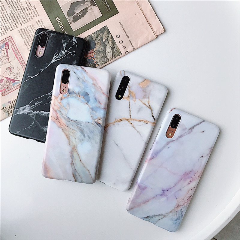 FLYKYLIN Marble Flower Phone Shell For Samsung Galaxy A40 A50 A70 A51 A71 Back Cover 5