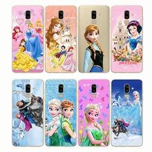 Castle Princess White Snow Prince Cartoon Phone Case Back Cover Silicone Soft for Samsung J4 J5 J6 J7 J8 Plus Prime prince castle ribbon cable 18 95 1835snib