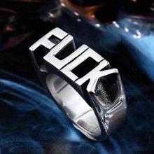 Eropa dan Amerika Baru Gaya Punk Cincin untuk Pria Wanita Alfabet Bahasa  Inggris Kreatif Jari Cincin untuk Pesta Koktail 3c42e26c5f