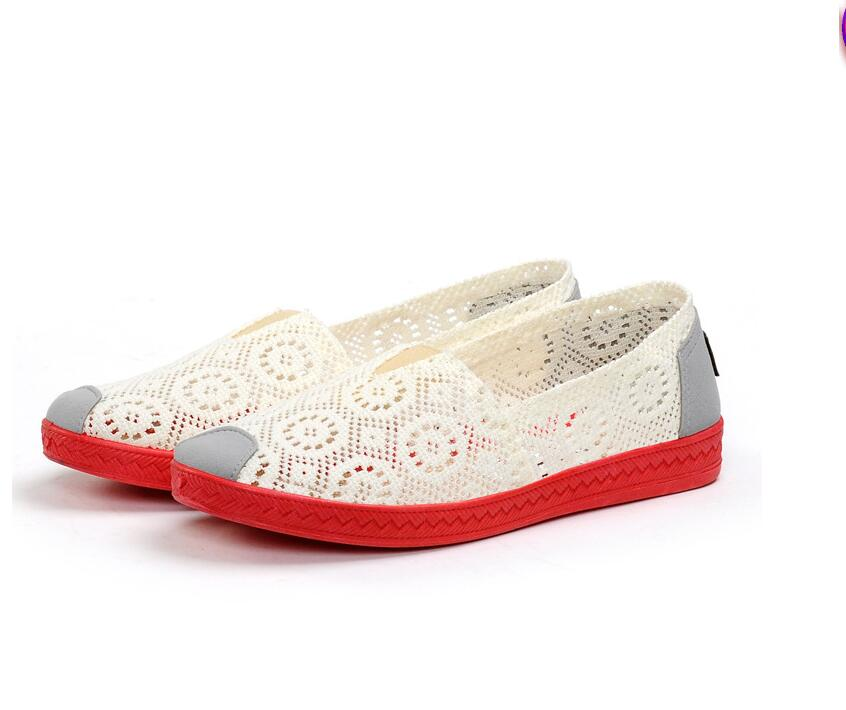 blanc Chaussures Appartements pu Mary Roue Étudiants Web Toile D'arachide Casual Fond De Femmes 2017 Ciel Noir Loisirs rouge Chaussures Travail 8fHCqwIavx