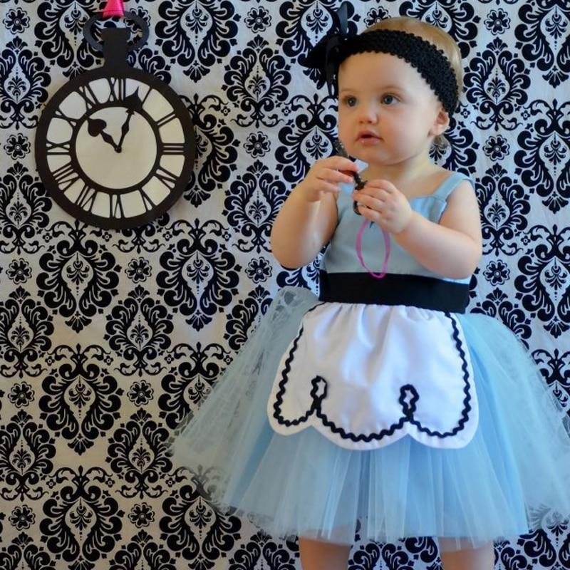 Baby Girls Princess Costume Dress 2018 Summer Sleeveless Dresses Halloween Carnival Ball Gown Clothing For Toddler Girls Wear