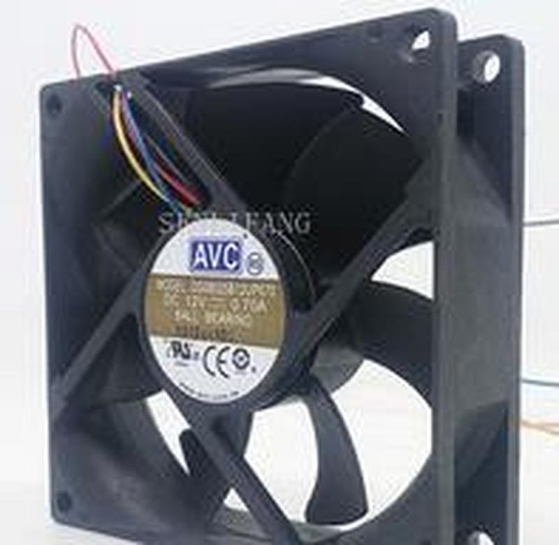 Free Shipping  8CM 8025 DS08025B12UP070 12V 0.70A Fan
