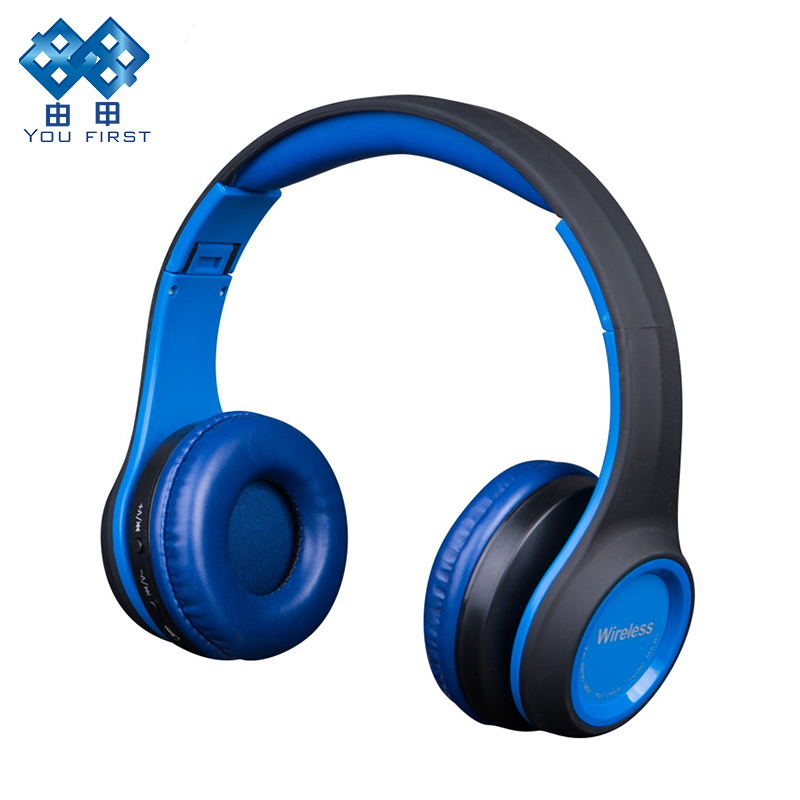 Earphones and Headphones Bluetooth Wireless Sport Handsfree With Microphone FM Radio Mp3 Player TF Card Wired Stereo Headset