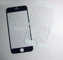 Brade NEW Replacement LCD Front Touch Screen Glass Outer Lens for iphone 6 4.7 inch Black/White 100pcs/lot Shipping By DHL