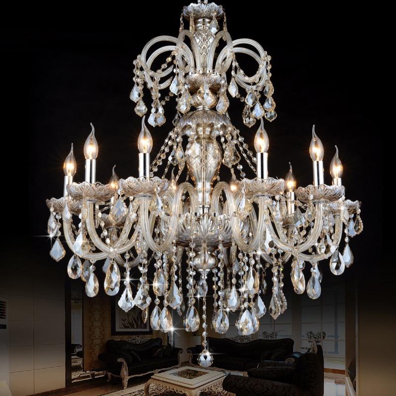 Crystal Chandelier Trash Club: European Crystal Chandelier Lighting Living Room Lamp